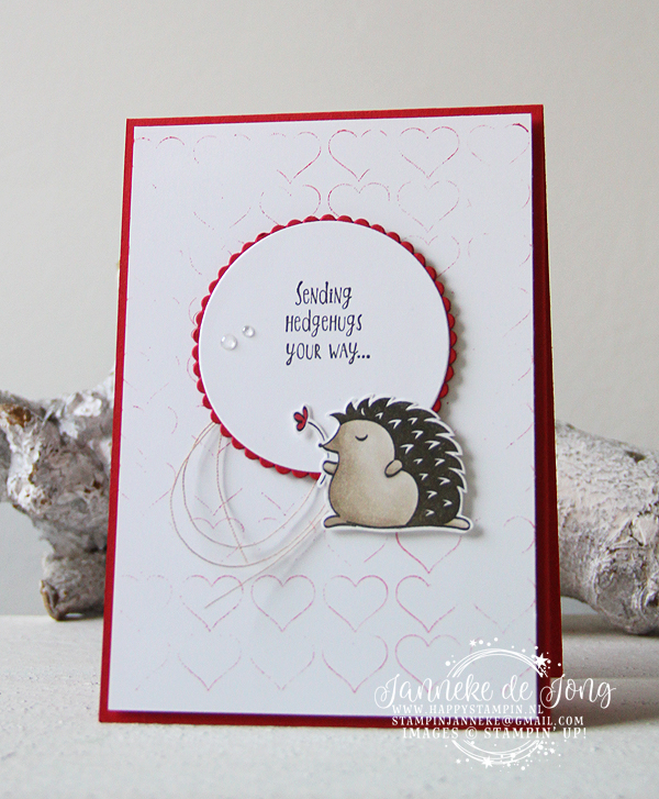 Stampin' Up! - Happy Stampin' - Janneke de Jong - Hedgehugs