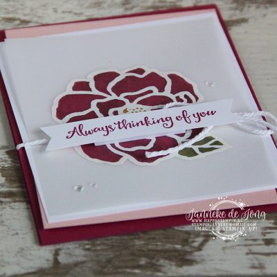 Stampin' Up! – Always thinking of you