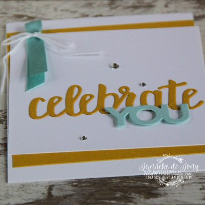 Stampin' Up! – Sale a Brations – Celebrate You