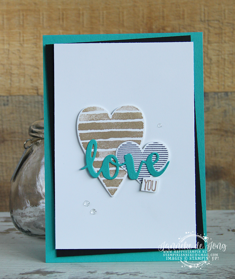 Stampin' Up! - Happy Stampin' - Janneke de Jong - Heart Happiness