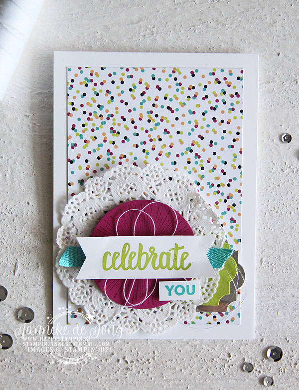Stampin' Up! - Happy Stampin' - Janneke de Jong - Amazing You
