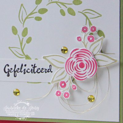 Stampin' Up! – Gefeliciteerd team blog hop
