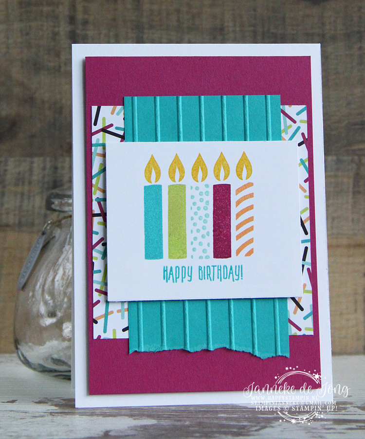 Stampin' Up! - Happy Stampin' - Janneke de Jong - Picture Perfect Birthday