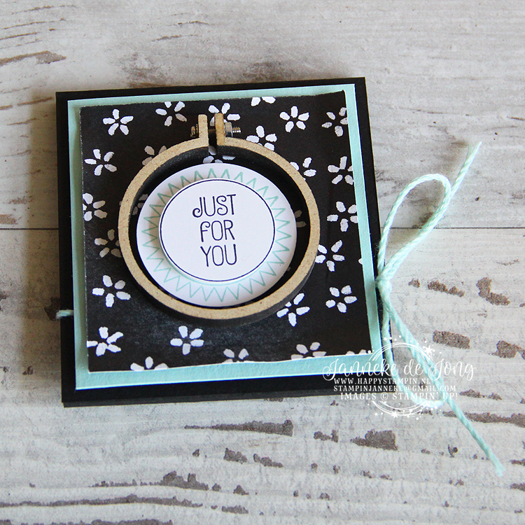 Stampin' Up! - Happy Stampin' - Janneke de Jong - A Good Day - Just For You