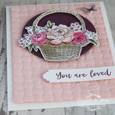 Stampin' Up! – Sale A Brations – You are loved