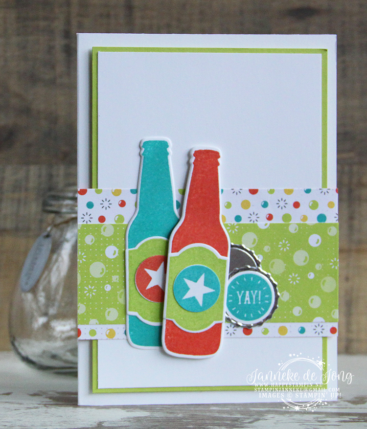 Stampin' Up! - Happy Stampin' - Janneke de Jong - Bubble Over