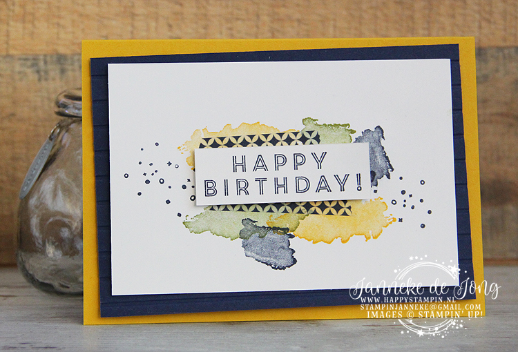 Stampin' Up! - Happy Stampin' - Janneke de Jong - Eclectic Expressions - Sale a Brations