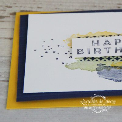 Stampin' Up! – Sale a Brations – Happy Birthday