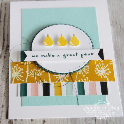 Stampin' Up! – We make a great pear