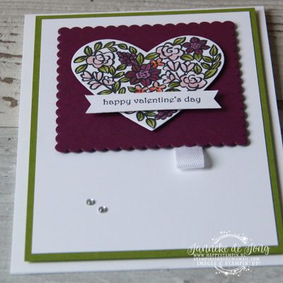 Stampin' Up! – Happy Valentine's Day #GDP124
