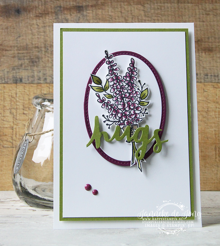 Stampin' Up! - Happy Stampin' - Janneke de Jong - Lots of Lavender
