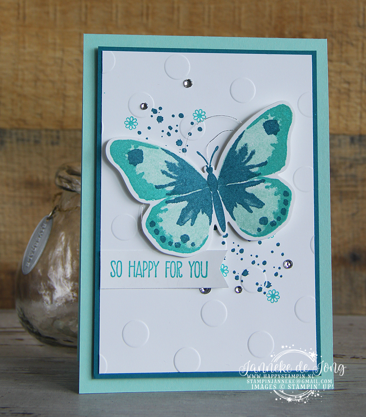 Stampin' Up! - Happy Stampin' - Janneke de Jong - Watercolor Wings