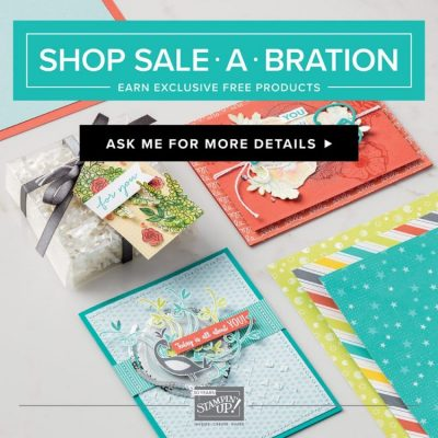 Stampin' Up! – Sale a Brations, laatste kans ;-)