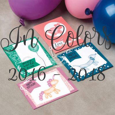 Stampin' Up! – In Colors 2016-2018 & Fast Fuse