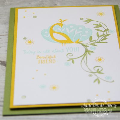 Stampin' Up! – Sale A Brations – Beautiful Peacock