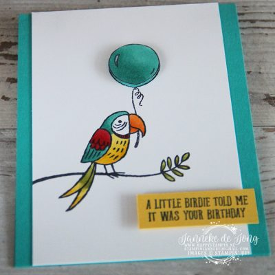 Stampin' Up! – A little birdie told me …