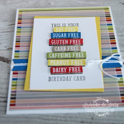 Stampin' Up! – This is your Birthday card