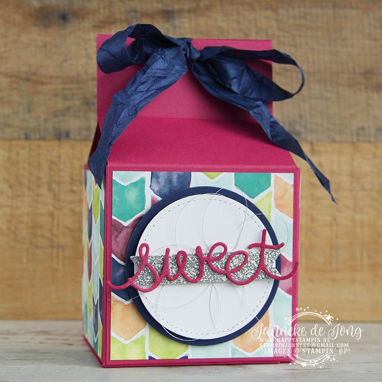 Stampin' Up! - Happy Stampin' - Janneke de Jong - Chocolate box