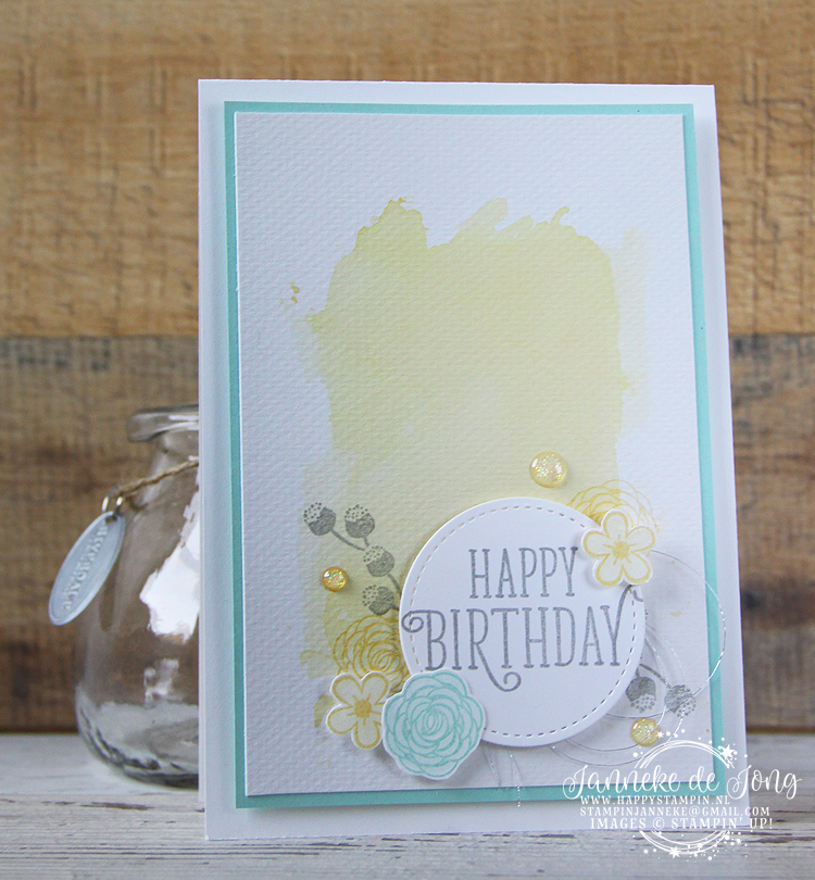 Stampin' Up! - Happy Stampin' - Janneke de Jong - Happy Birthday Gorgeous