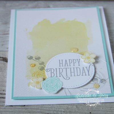 Stampin' Up! – Happy Birthday – Happy Stars blog hop