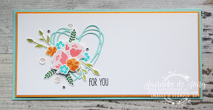 Stampin' Up! - Happy Stampin' - Janneke de Jong - Jar of Love - GDP128