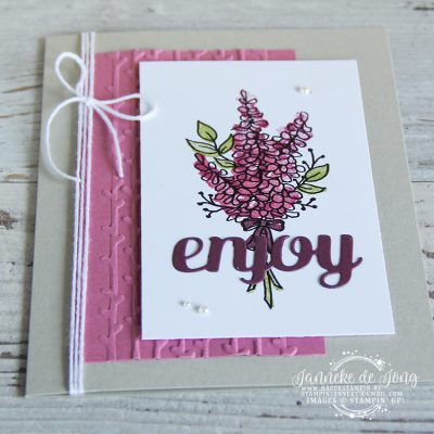 Stampin' Up! – Sale A Brations – Lots of Lavender