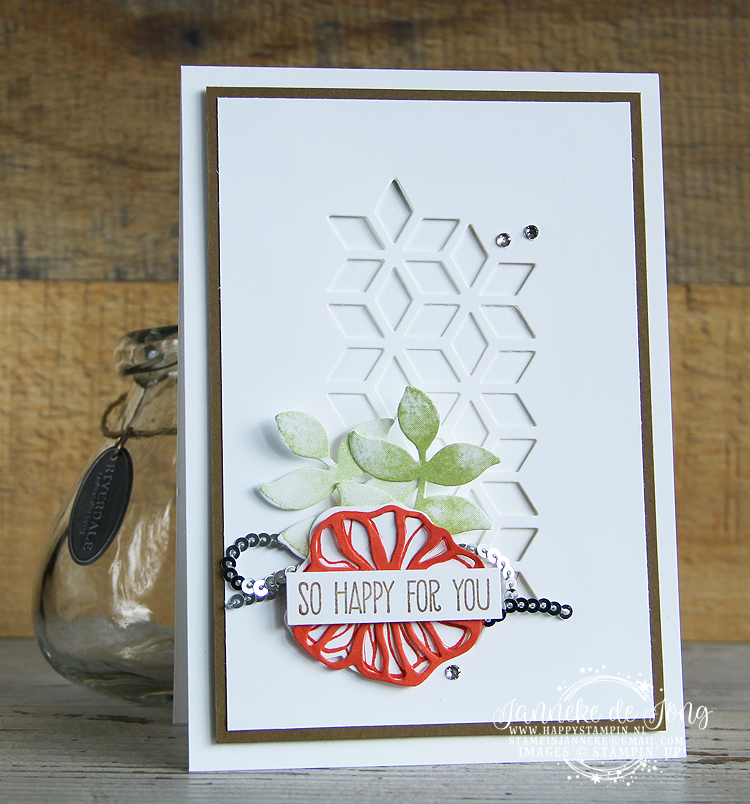 Stampin' Up! - Happy Stampin' - Janneke de Jong - Oh so Eclectic - So happy for You