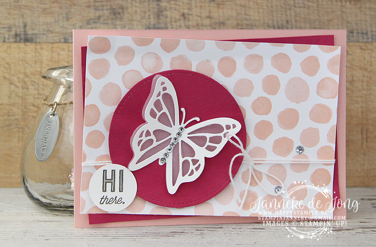 Stampin' Up! - Happy Stampin' - Janneke de Jong - You Move Me