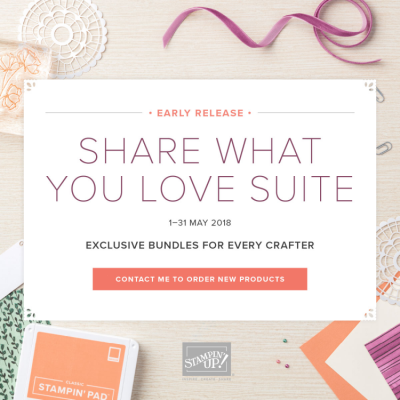 Stampin' Up! – Share what you love suite