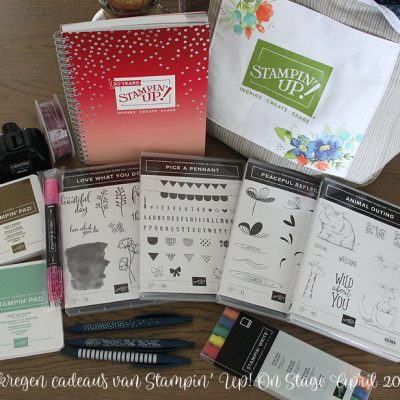 Stampin' Up! – On Stage & Display Sampler