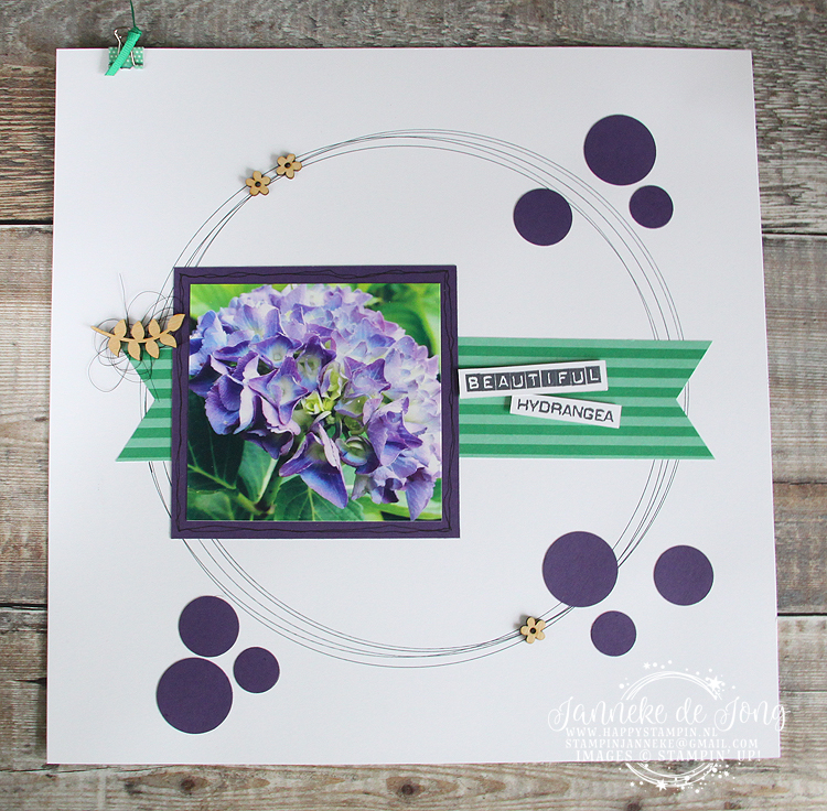 Stampin' Up! Happy Stampin' - Janneke de Jong - Display Sampler On Stage