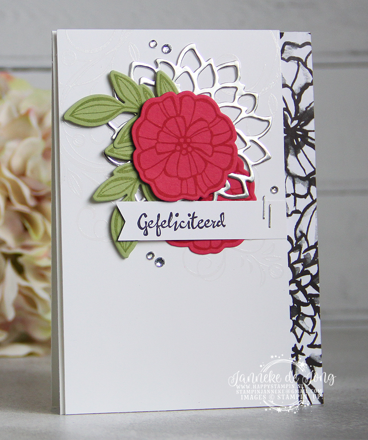 Stampin' Up! - Happy Stampin' - Janneke de Jong - Falling Flowers