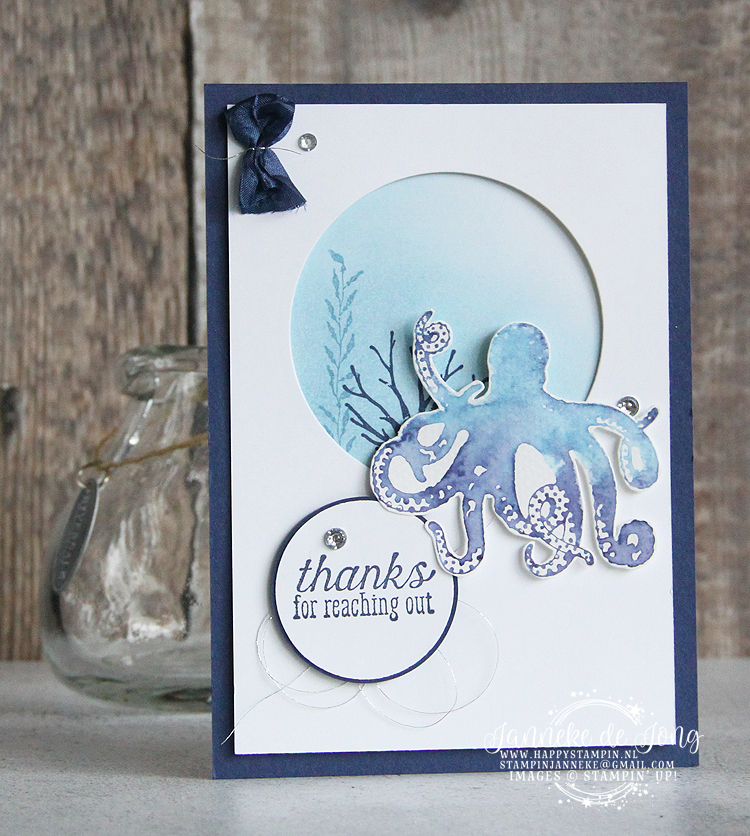 Stampin' Up! - Happy Stampin' - Janneke de Jong - Sea of Textures