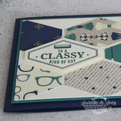 Stampin' Up! – To a classy kind of Guy #GDP133