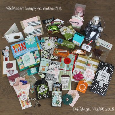 Stampin' Up! – On Stage Swaps & Tutorial