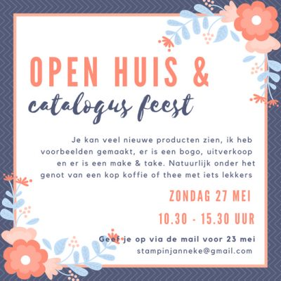 Stampin' Up! – Open dag & Catalogus party