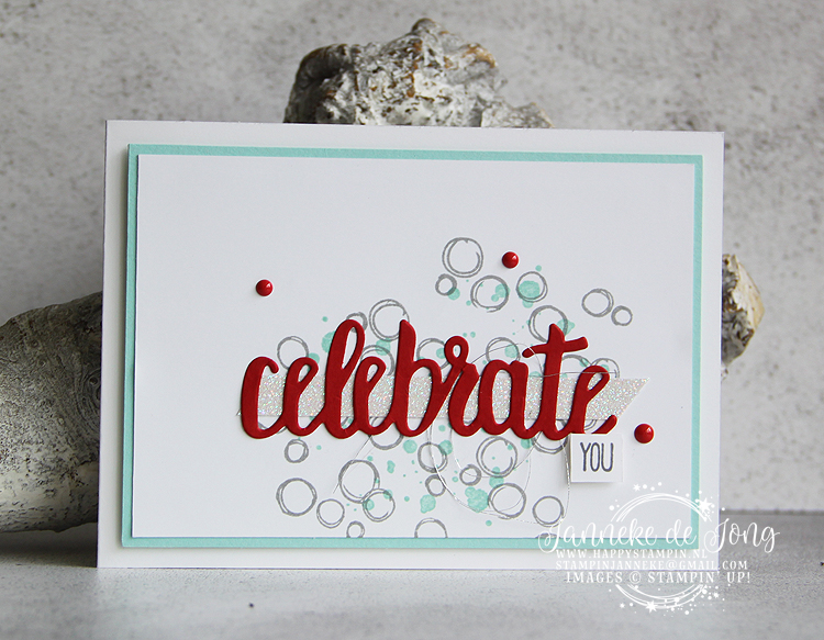 Stampin' Up! - Celebrate You thinlints - verkoop & inspiratie van Stampin' Up!
