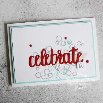 Stampin' Up! – Celebrate You – Be Inspired Design Team blog hop