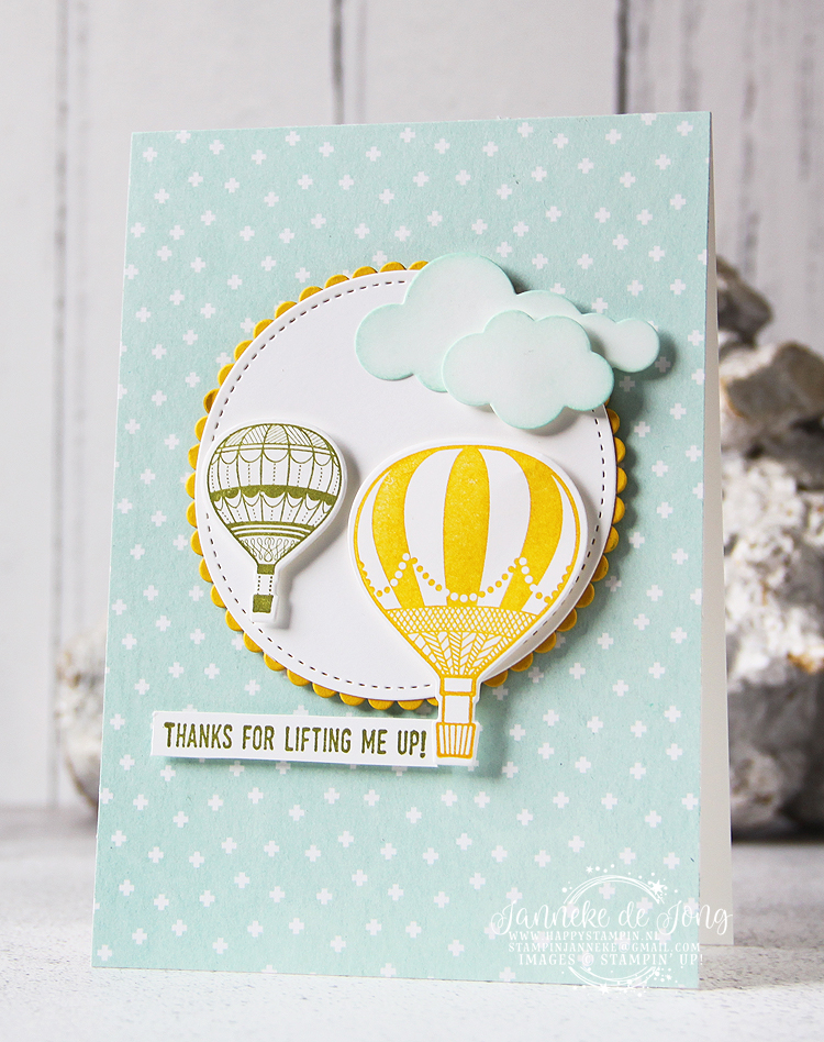 Stampin' Up! - Happy Stampin' - Janneke de Jong - Lift me Up