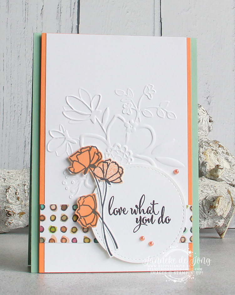 Stampin' Up! - Happy Stampin' - Janneke de Jong - Love what you do