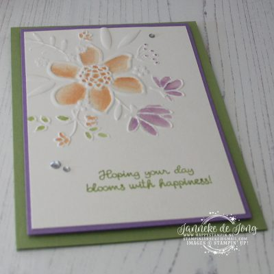 Stampin' Up! – Lovely Floral Embossing – Global Design Project #140