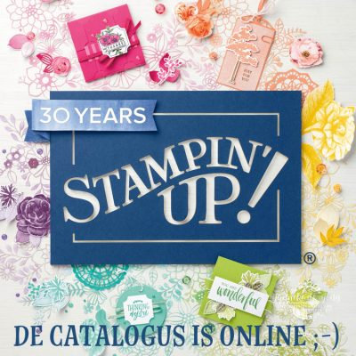 Stampin' Up! – de catalogus is online ;-)