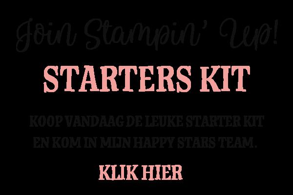 Stampin' Up! starters pakket