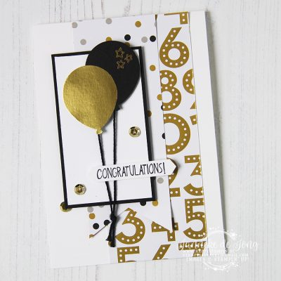 Stampin' Up! – Balloon Celebrations & Little Elephant – Congratulations