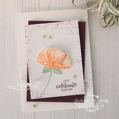 Stampin' Up! – Bunch of Blossoms – Global Design Project #145