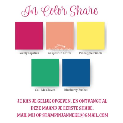 Stampin' Up! – In Color Share