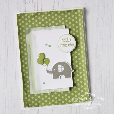 Stampin' Up! – Little Elephant – Hello little one