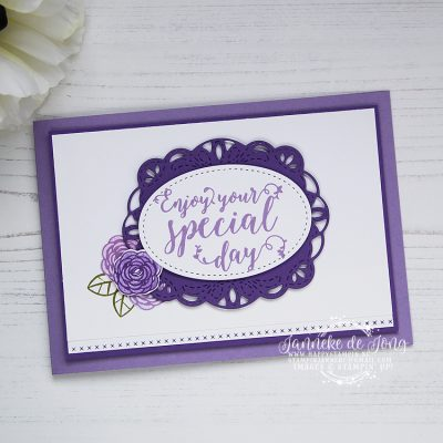 Stampin' Up! – Stitched all Around – Enjoy your Special Day