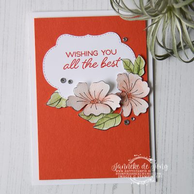 Stampin' Up! – Blended Seasons – Global Design Project #148