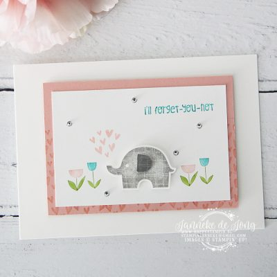Stampin' Up! – Little Elephant – All Stars Blog hop